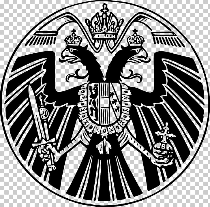 Austrian Empire Eagle Flag of Austria, eagle PNG clipart.