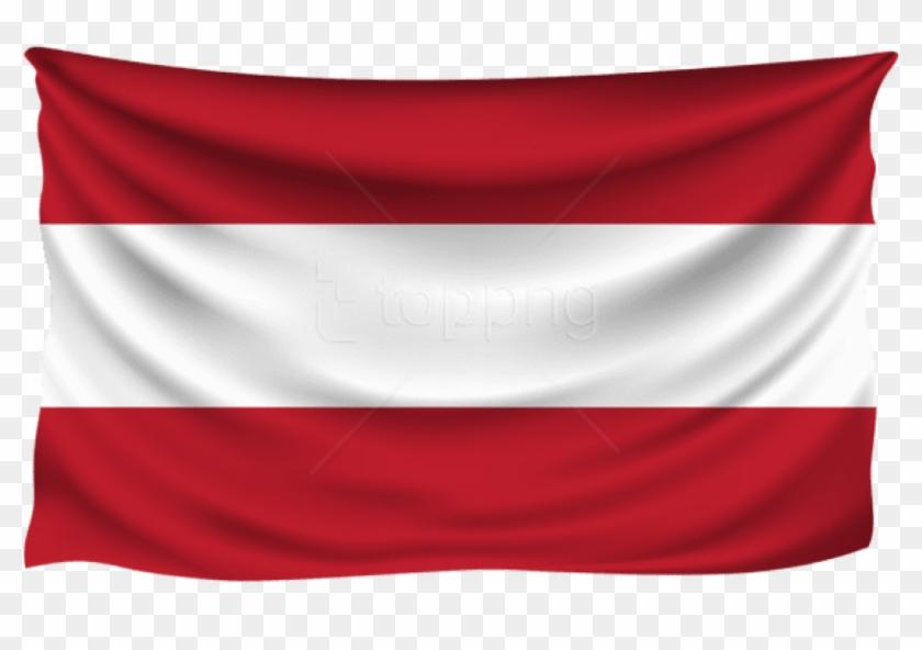 Free Png Download Austria Wrinkled Flag Clipart Png.