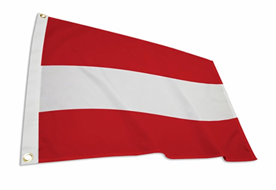 Austria International Flag.
