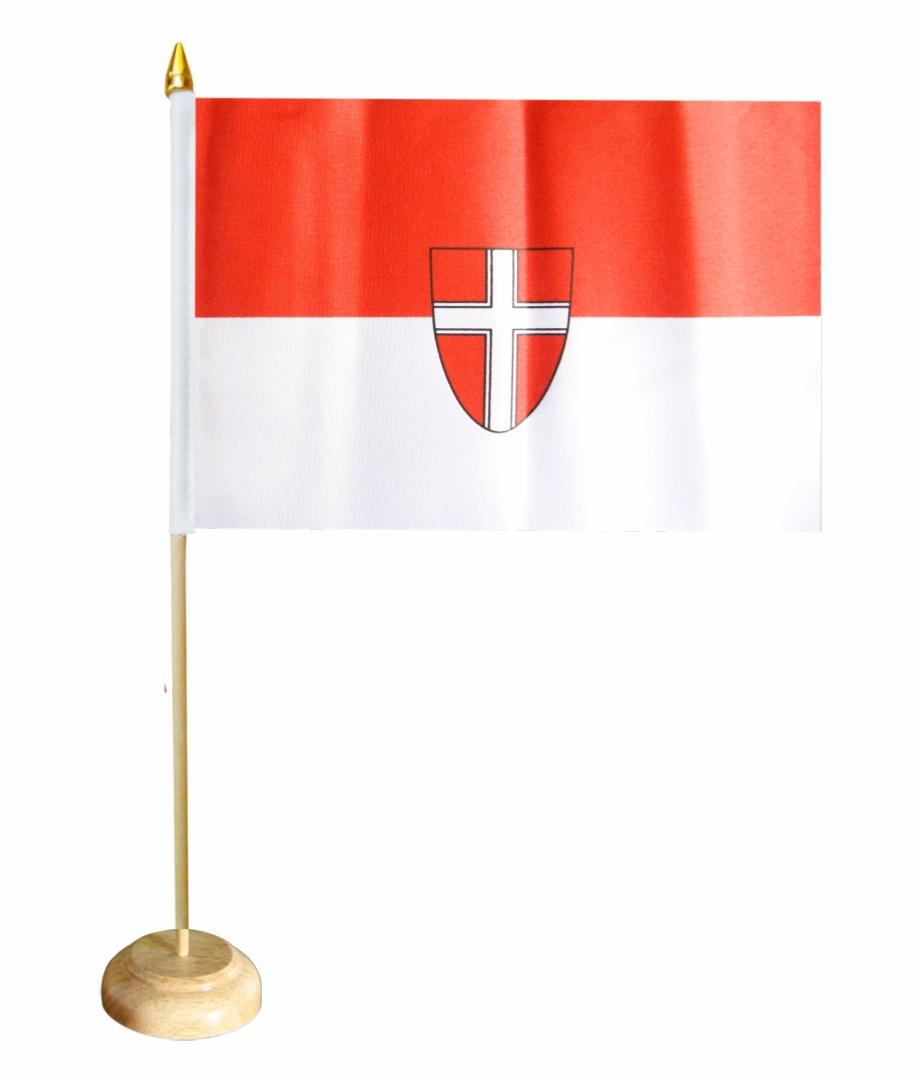 Austria Vienna Table Flag.