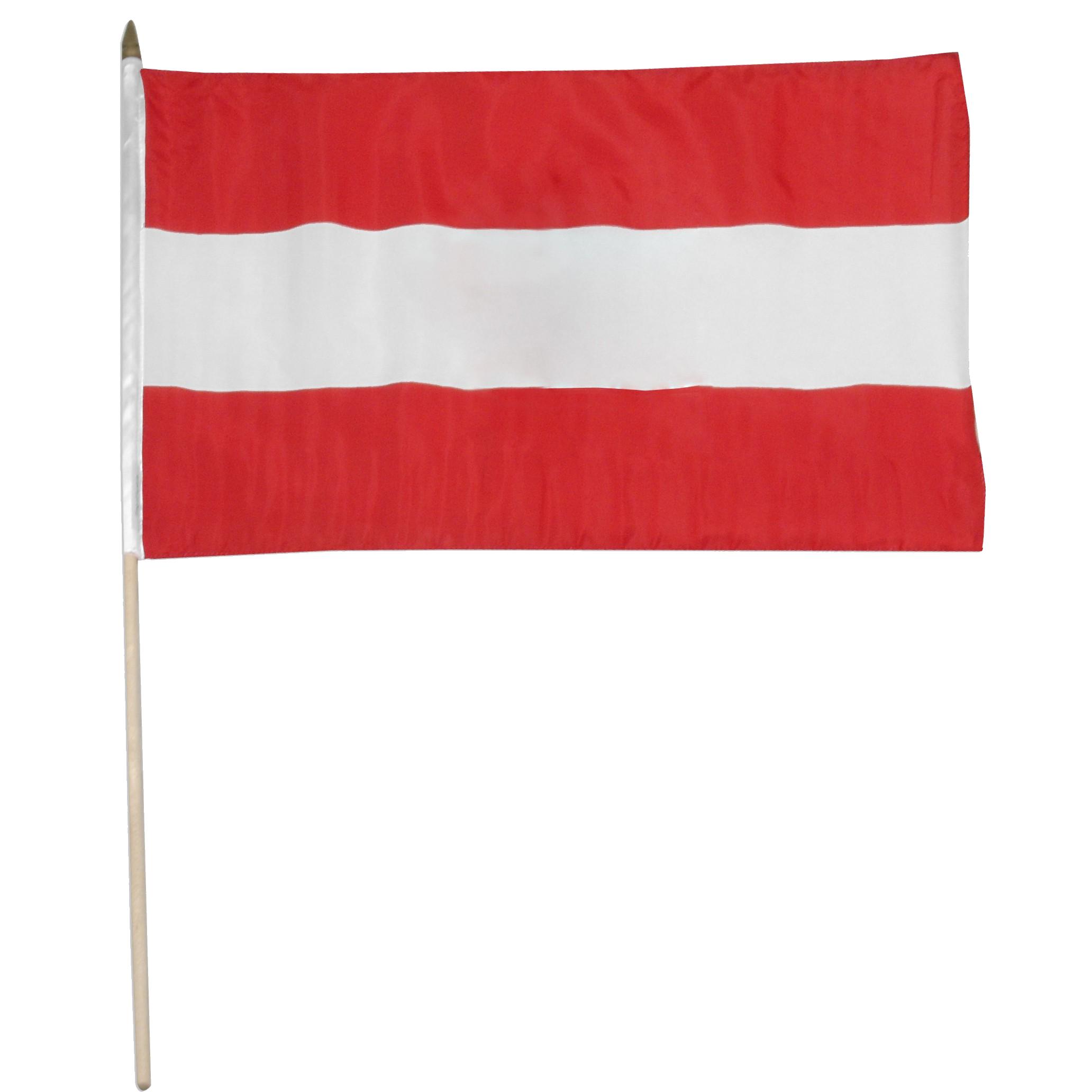 Austria Flag PNG Pic.