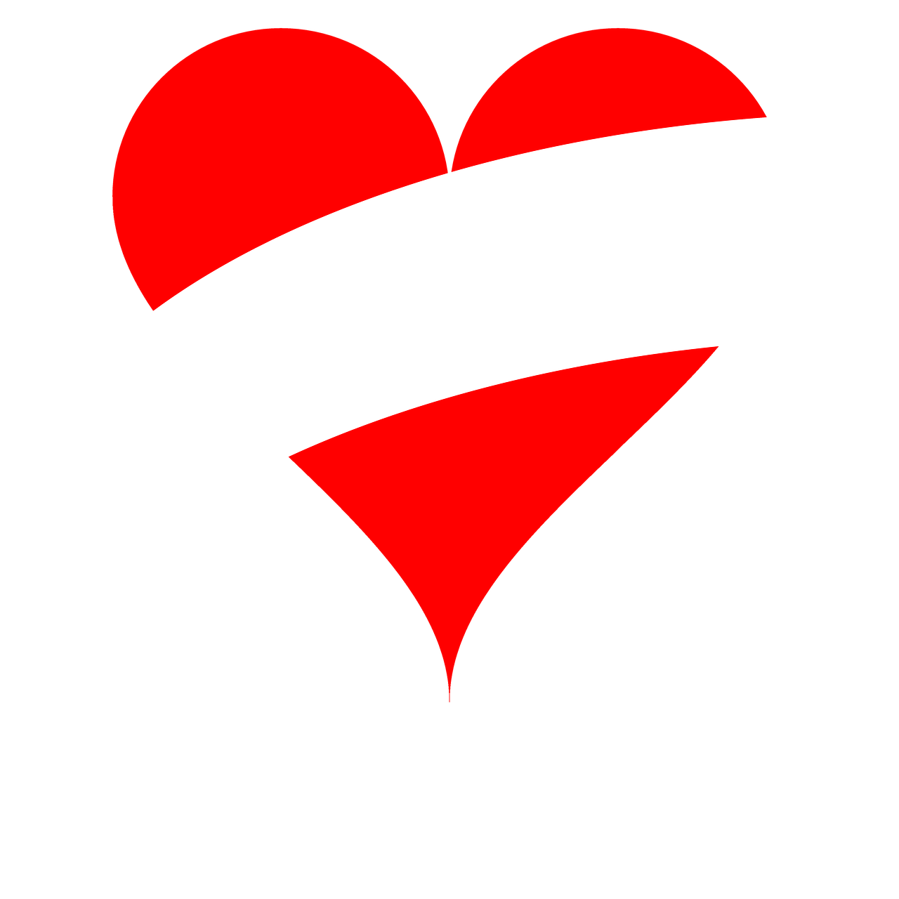 Heart Love Flag Austria PNG.