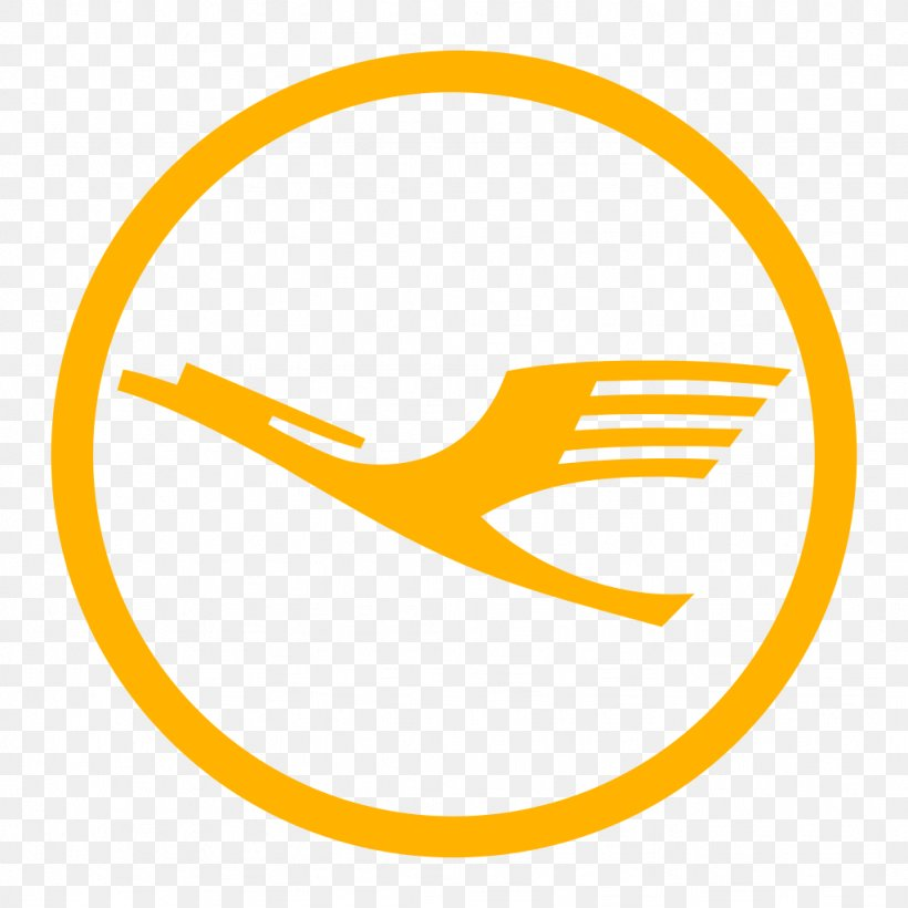 Lufthansa Cargo Flight Airline Logo, PNG, 1024x1024px.