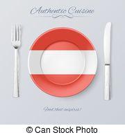 Austrian cuisine Vector Clip Art Royalty Free. 16 Austrian cuisine.