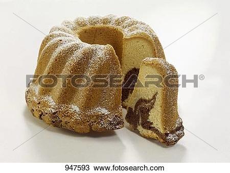 Stock Photo of Marble gugelhupf 947593.