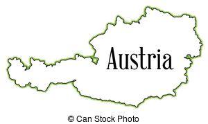 Vector Illustration of austria.