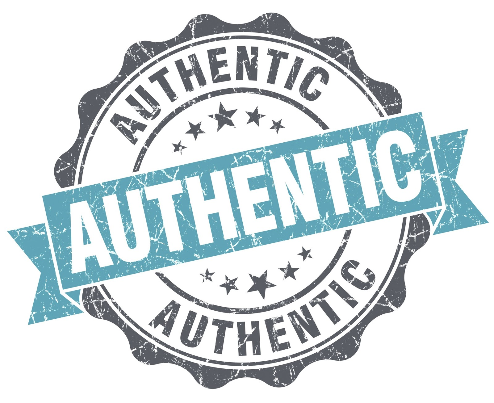 We feel more authentic when we're with other people and we behave as.