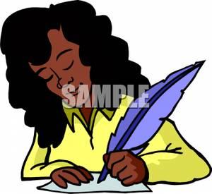 Author clipart girl author, Author girl author Transparent.