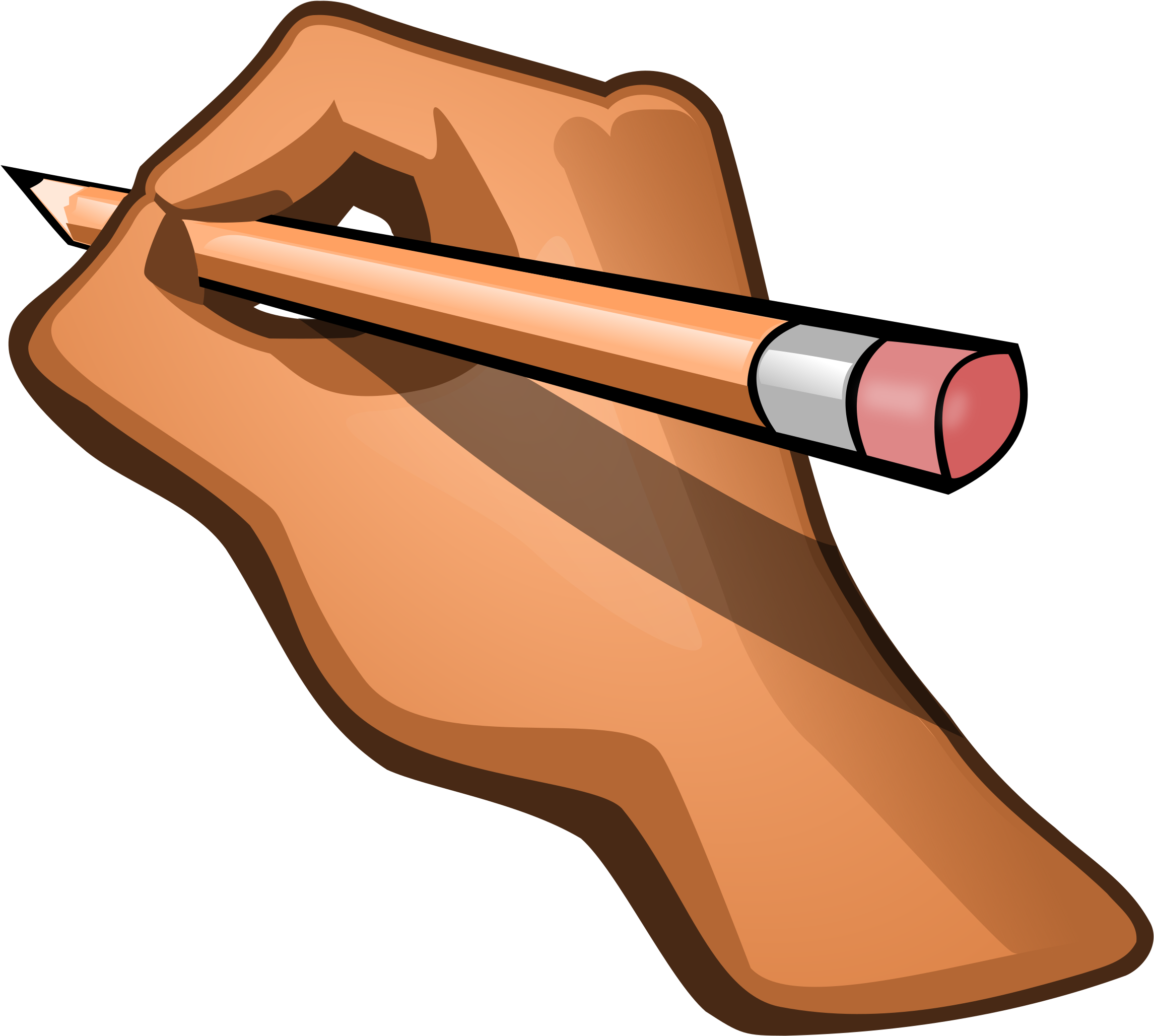 HD Author Clipart Pencil.