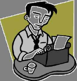 Author Clipart.