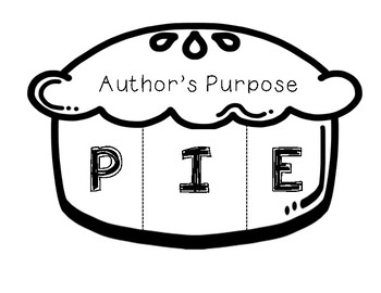 Author\'s Purpose (foldable).