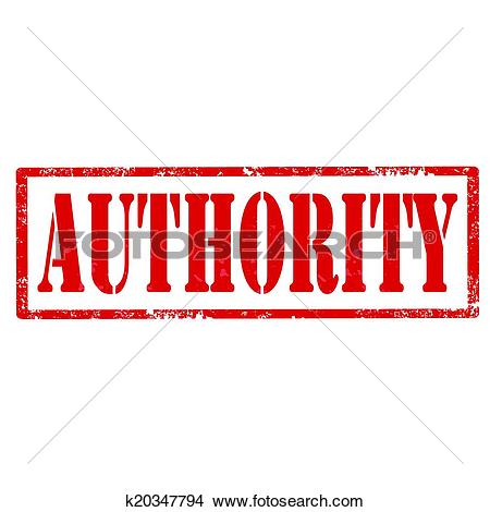 Clipart of Authority.
