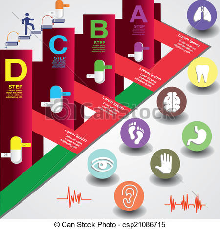 Vector Clip Art of rectangles, circles and authorities.