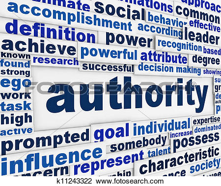 Clip Art of Authority message background k11243322.