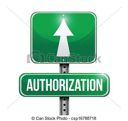 Authorization 20clipart.
