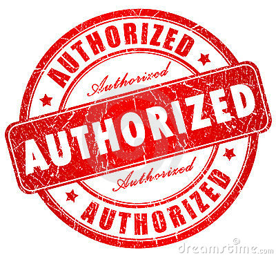 Authorization clipart.