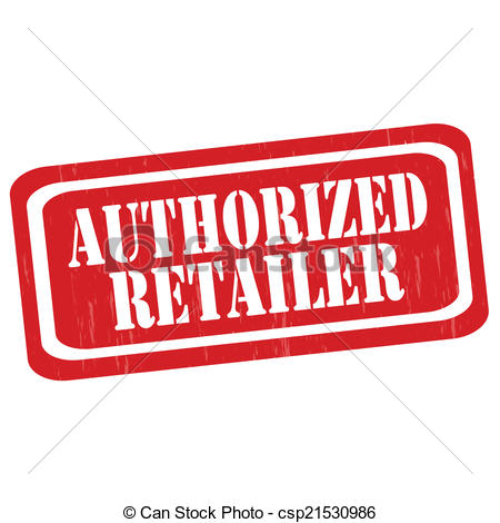Vector of Authorized Retailer.