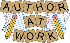 Authors at work clipart.
