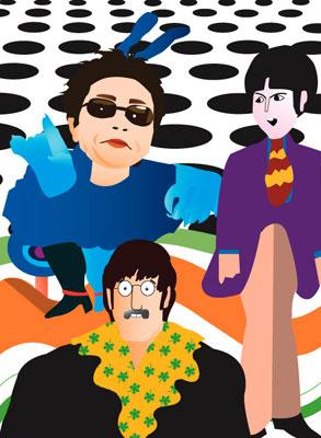 The ballad of Paul and Yoko.