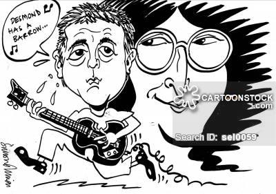 Lennon Cartoons and Comics.