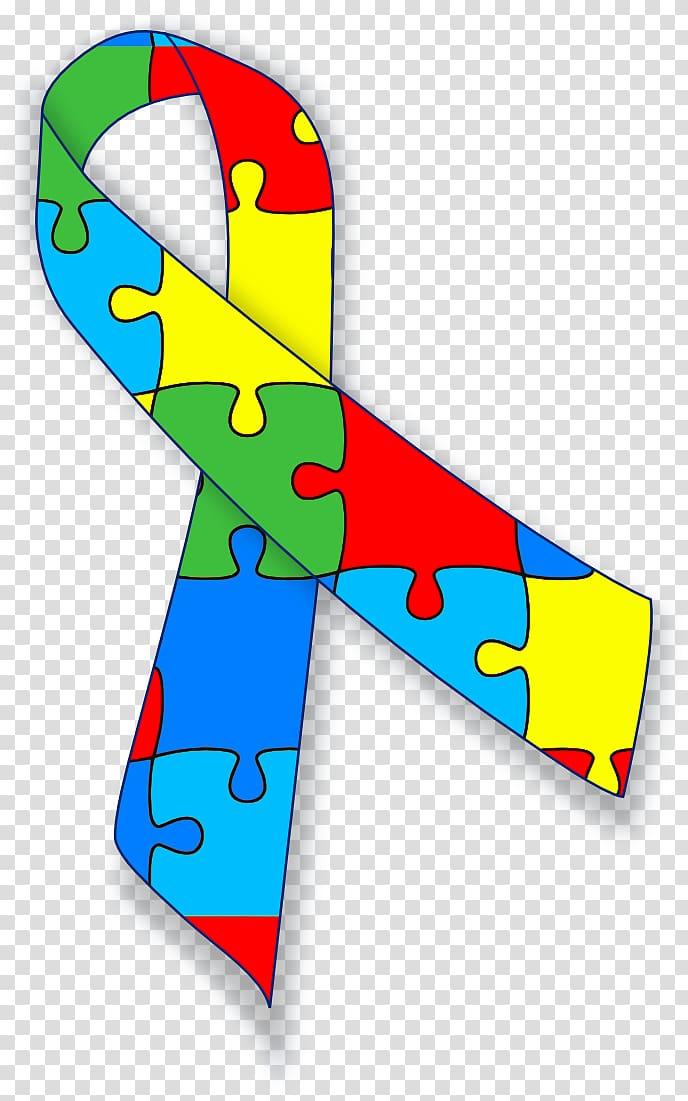 World Autism Awareness Day Awareness ribbon Autistic.