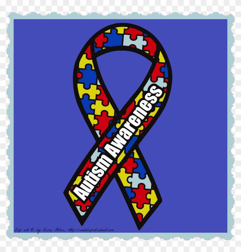 Autism Ribbon Clipart.