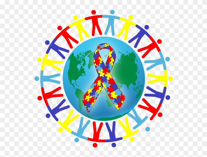 Autism Awareness Clipart.