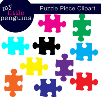Puzzle Piece Clipart (clip art png format) Autism Awareness.