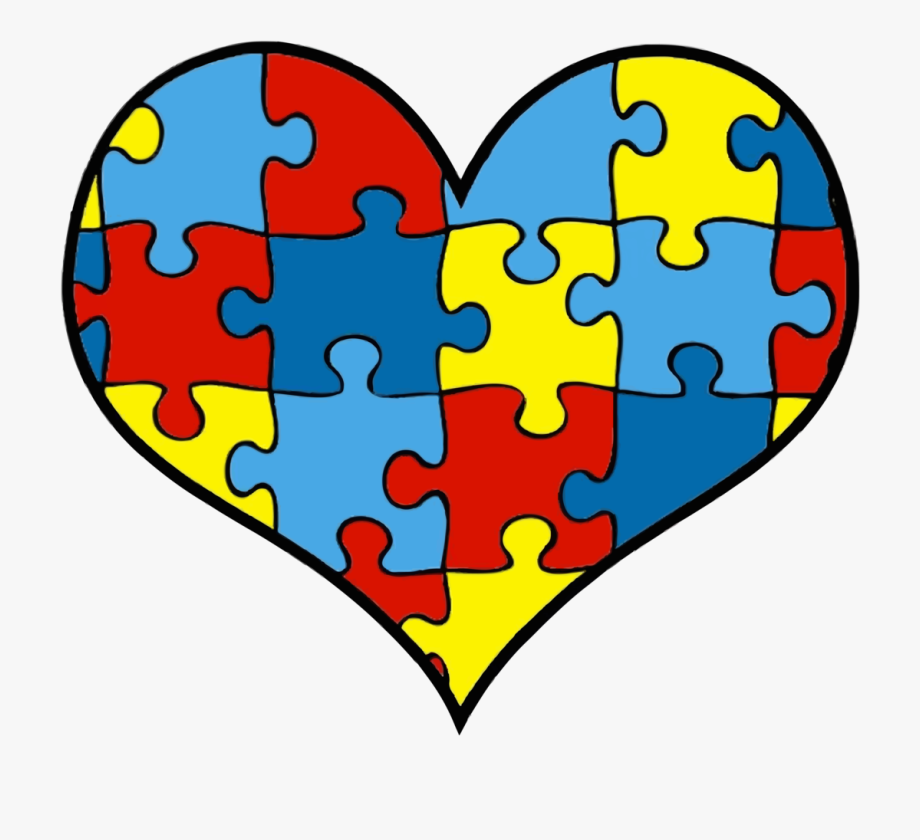 Autism Heart Png.