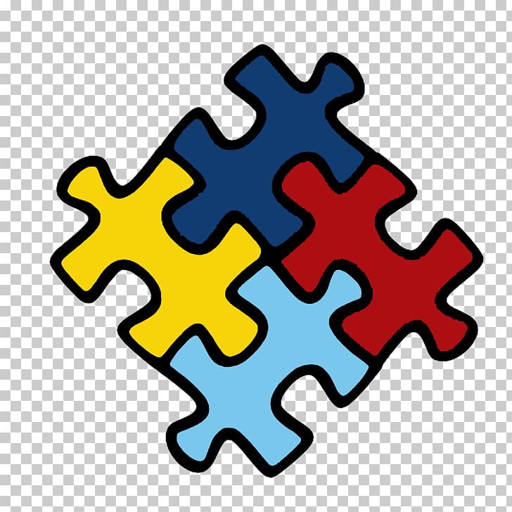 World Autism Awareness Day Awareness ribbon Sticker.
