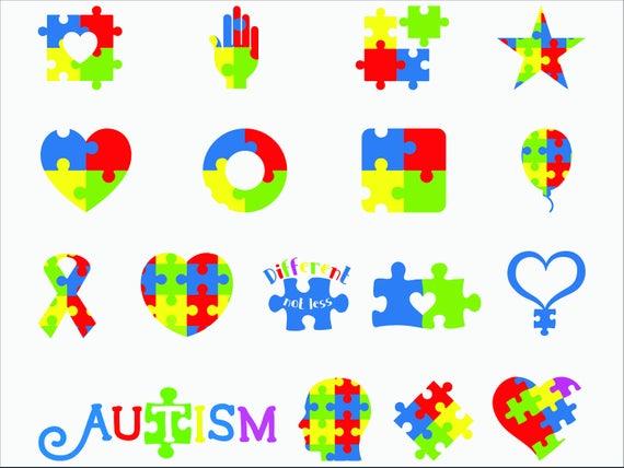 Puzzle svg/ Autism puzzle svg/ Autism awareness svg/ Autism heart puzzle  svg/ Autism svg/ Puzzle clipart/ Puzzle awareness cut file/ Cricut.