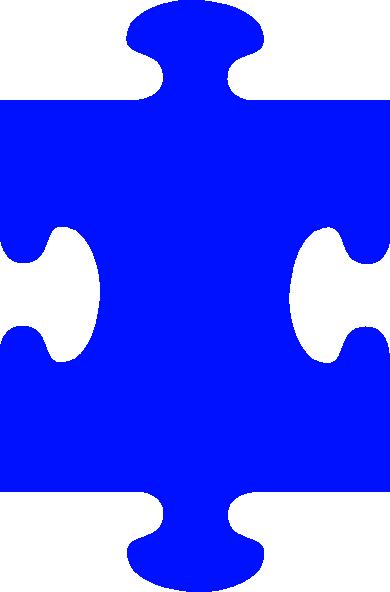 Autism Puzzle Pieces Clip Art.
