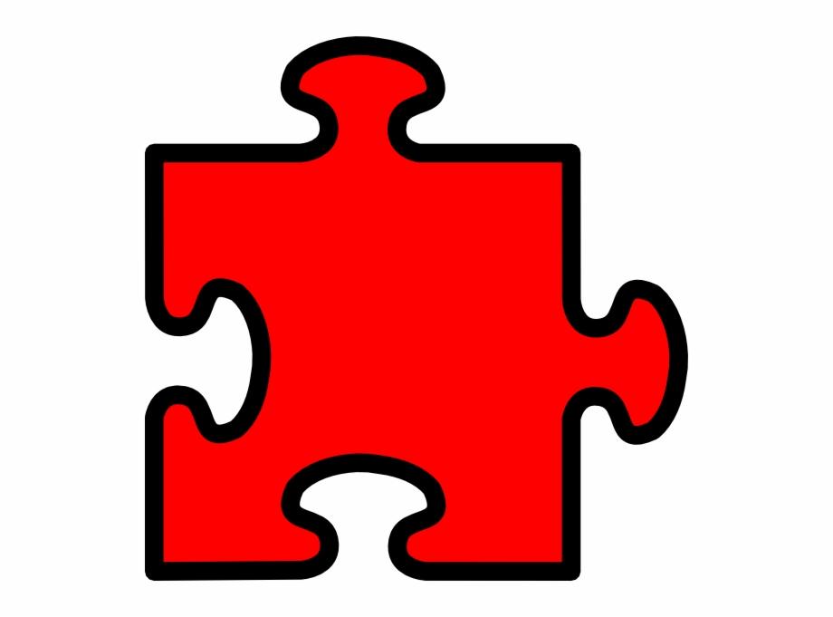 Autism Vector Jigsaw.