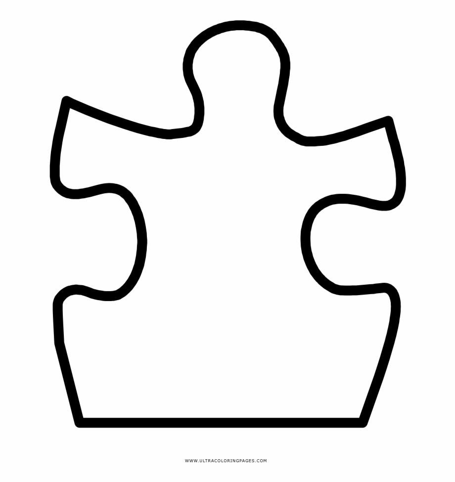 Free Puzzle Pieces Clip Art Black And White, Download Free.
