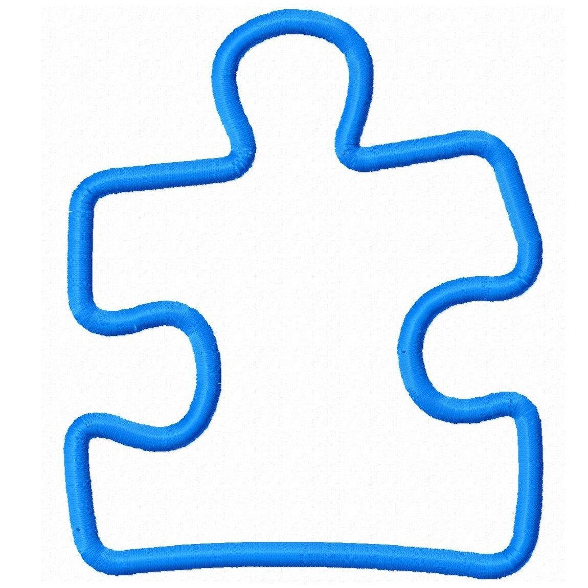 Autism Puzzle Piece Clip Art N18 free image.