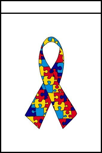 Autism Awareness Banner 2x3'.