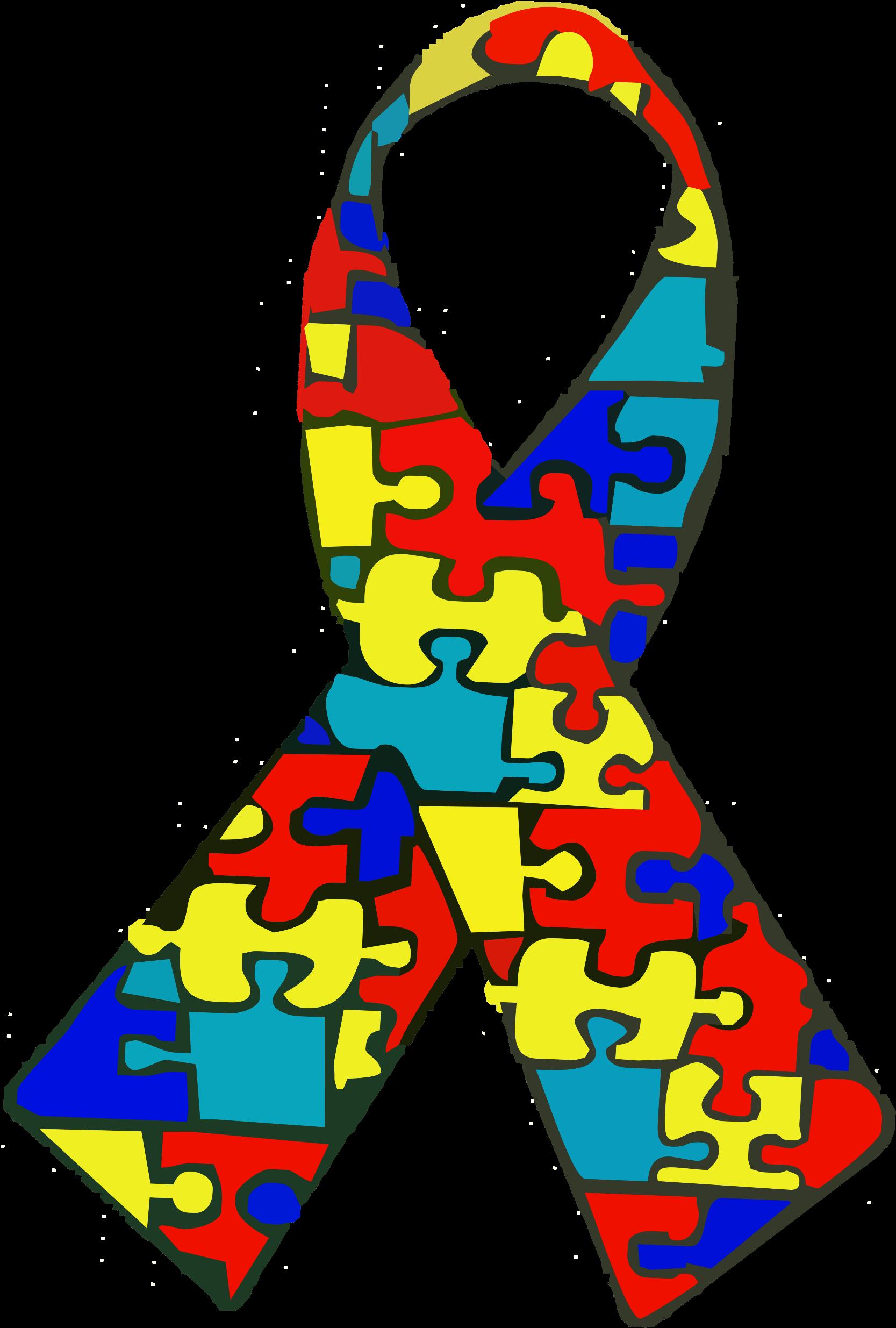 Autism Spectrum Disorder Logo Clipart.