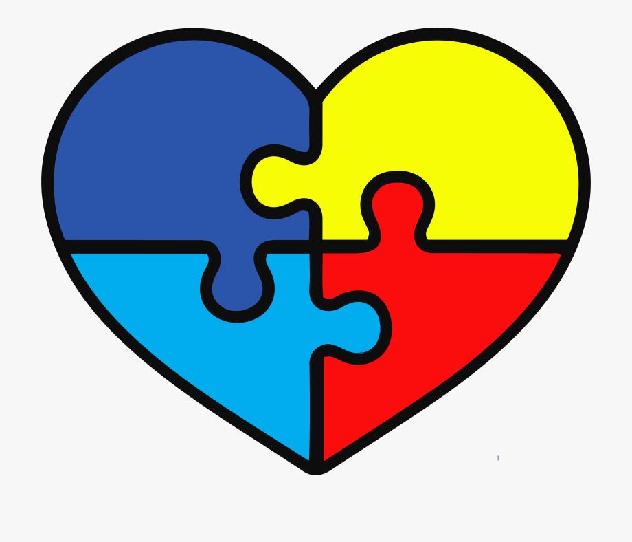 Autism Heart Puzzle Svg #1970135.
