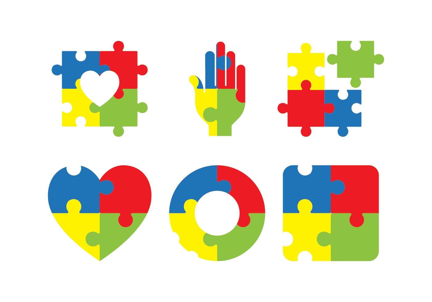 Autism Awareness Icon Vector.