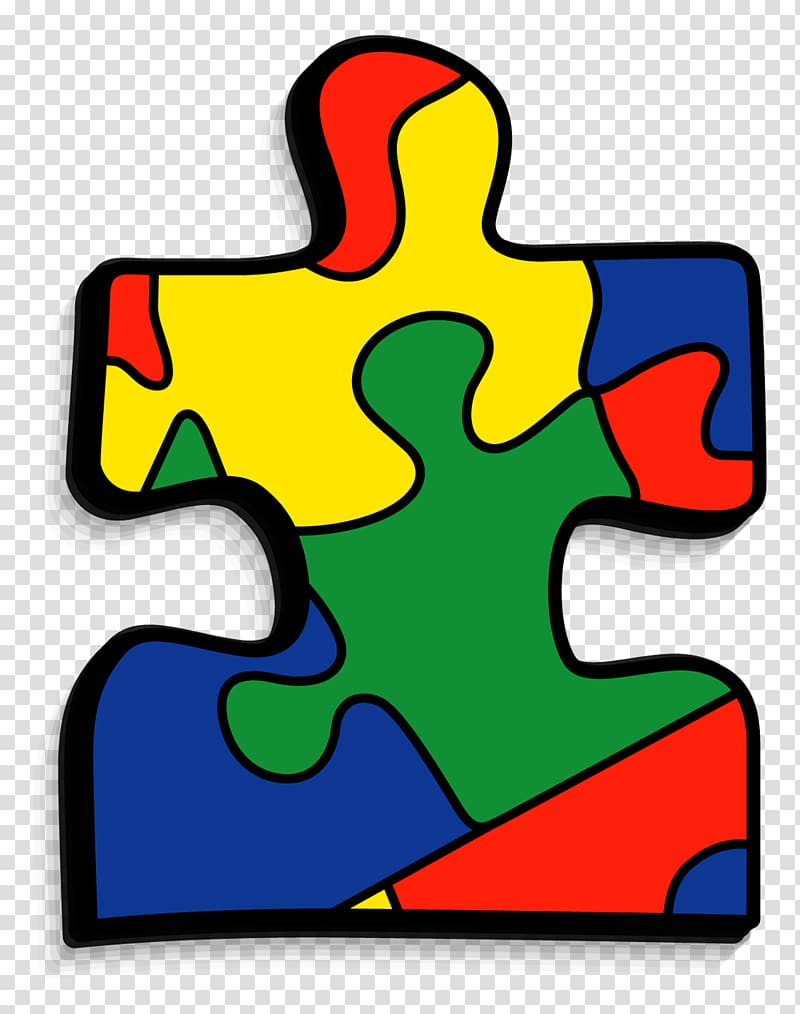Green, red,and blue puzzle maze, Jigsaw Puzzles World Autism.