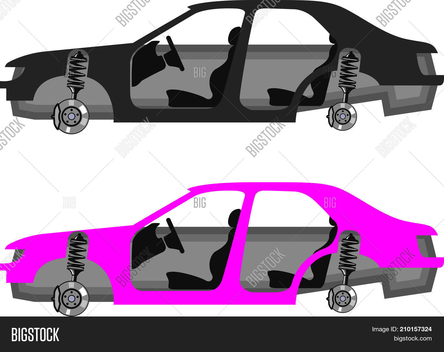 Auto Body Without Vector & Photo (Free Trial).