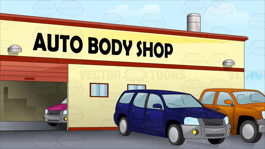 Auto Body Shop Clipart.
