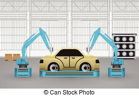 Car manufacturer clipart.