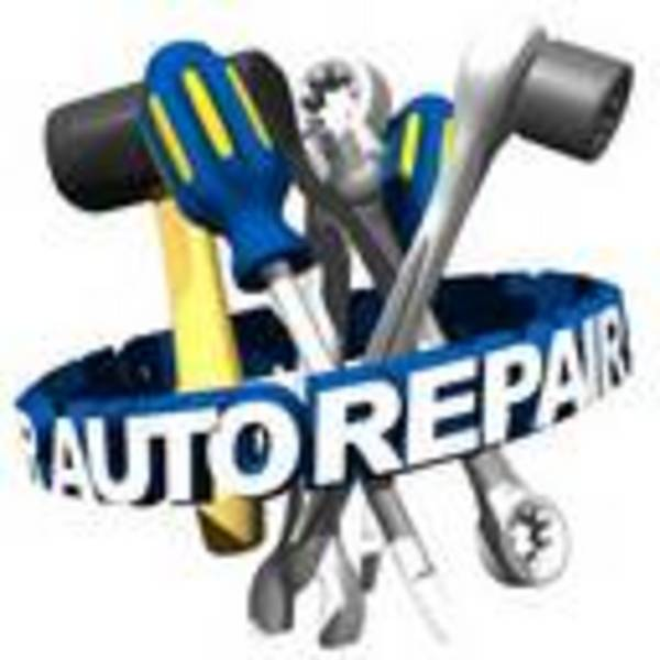 Car mechanic logo clip art.