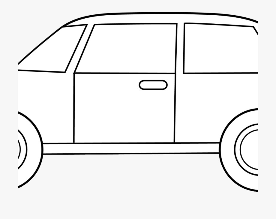 Best Car Clipart Black And White.