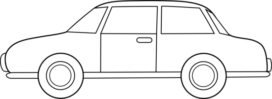 Auto clipart black and white 6 » Clipart Station.