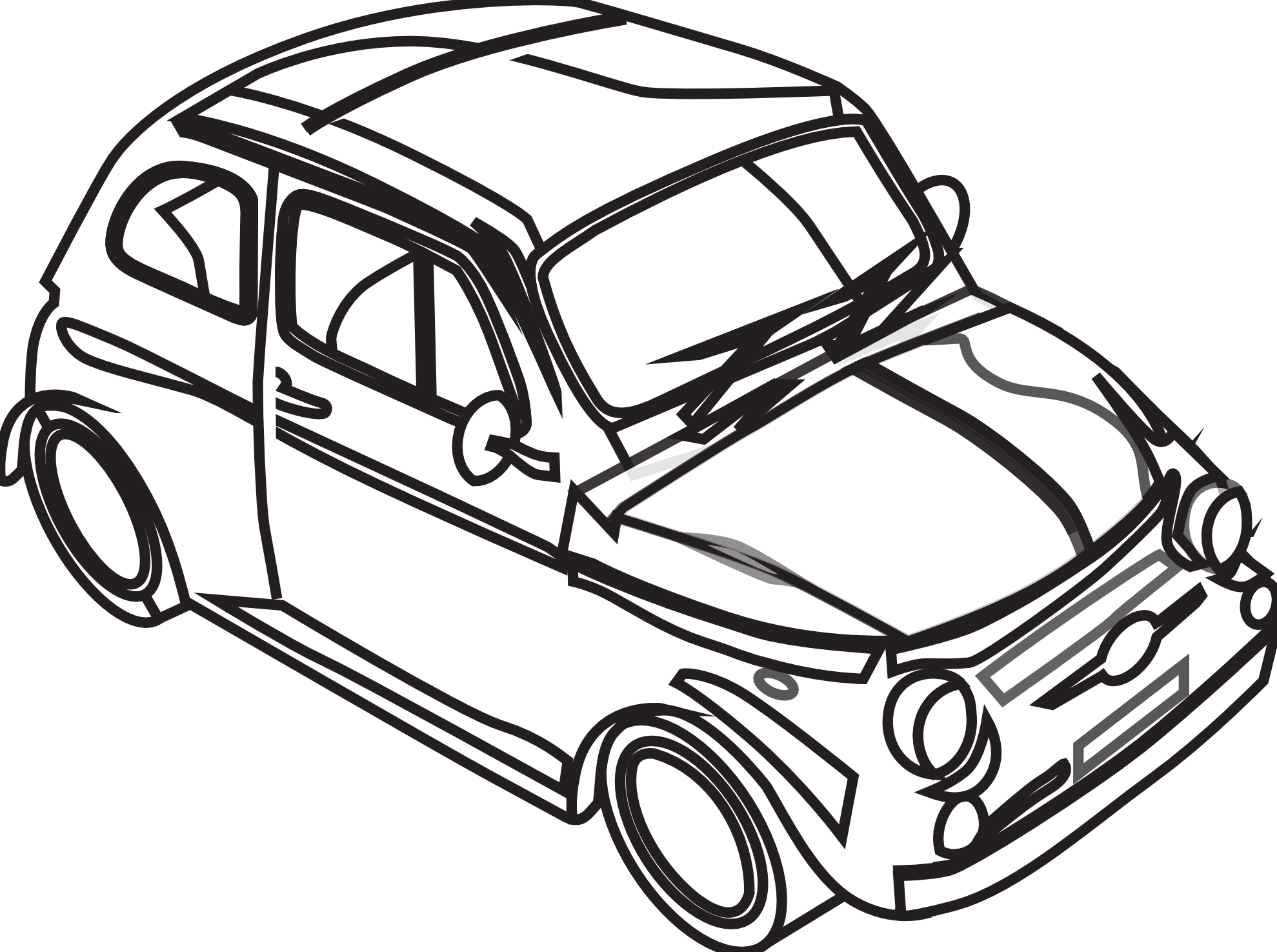 Free Black And White Car Pictures, Download Free Clip Art.