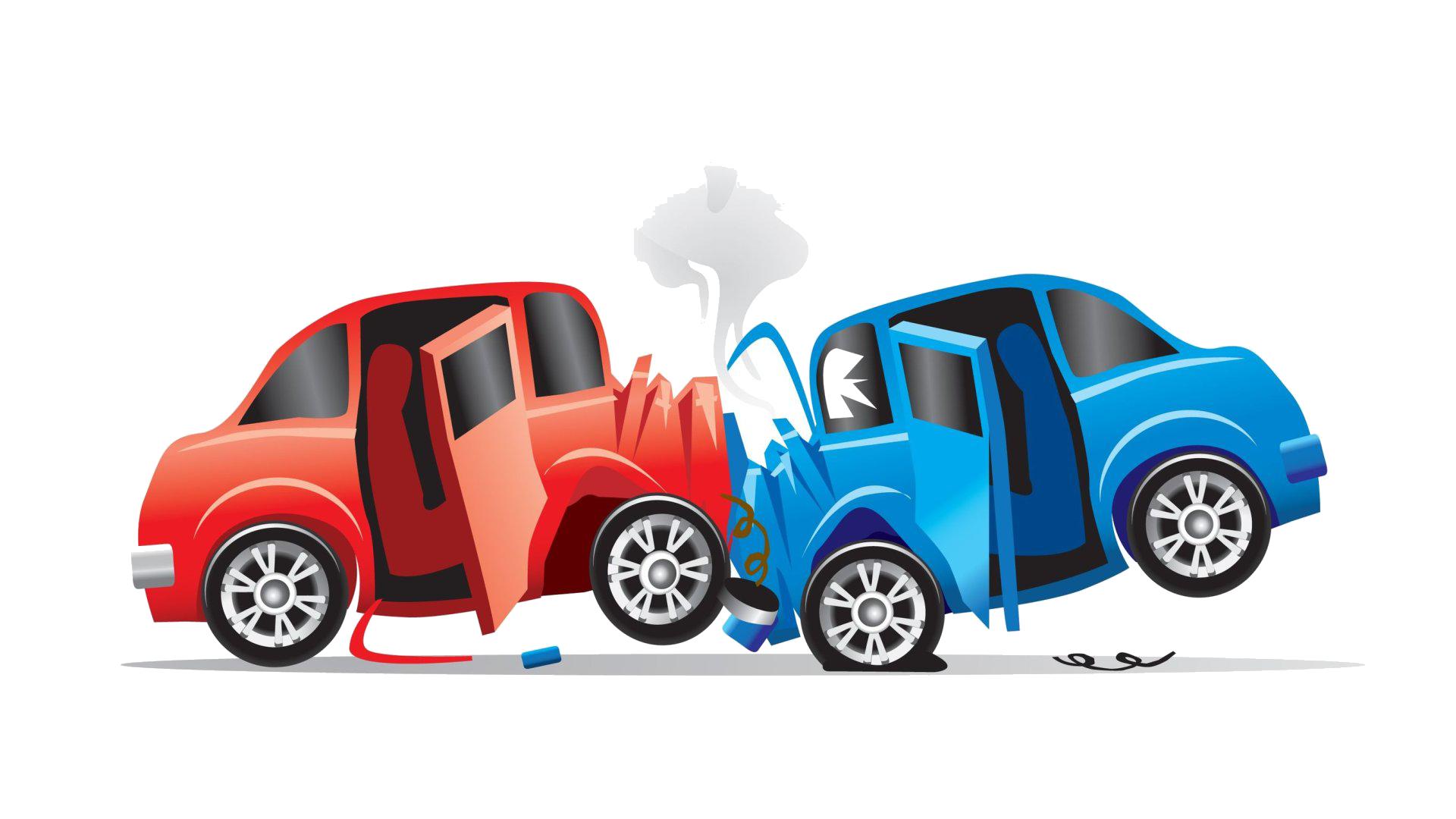 Car Traffic collision Accident Clip art.