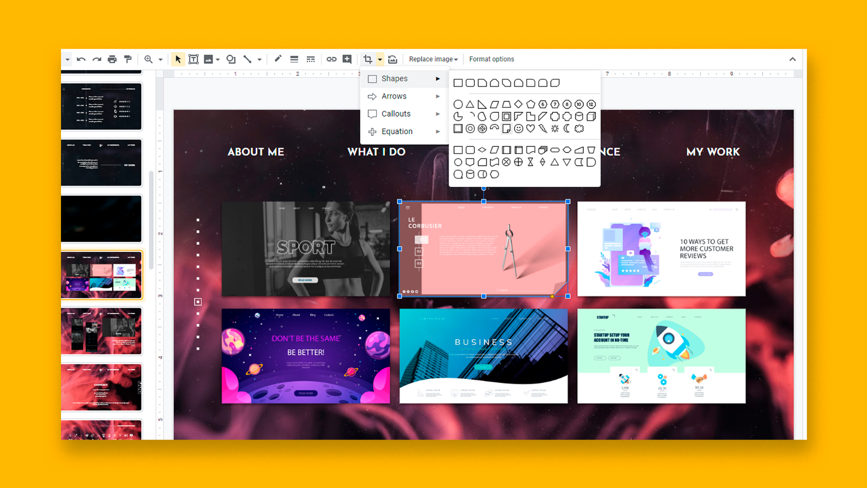 How to Insert, Crop or Mask Images in Google Slides.