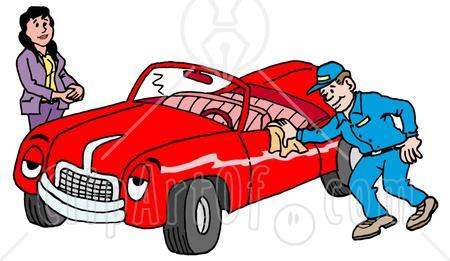 Car Detailing Clipart.